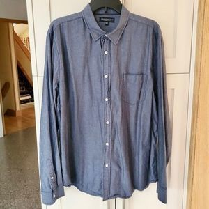 Aeropostale Gray Long Sleeve Shirt